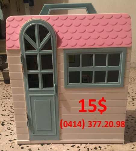 Casa De Muñecas Tipo Barbies Para Niñas.