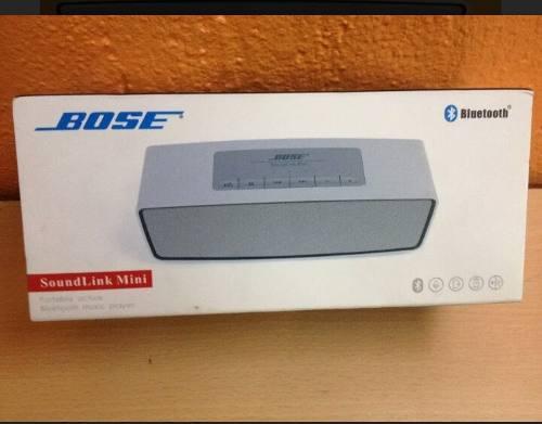 Corneta Bose Soundlink Mini Blutooth, Usb,micro Sd