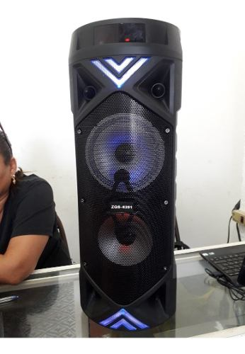 Corneta Inalámbrica, Portátil Con Bluetooth, Usb Y Radio