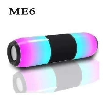 Corneta Jbl Me6 Altavoz Bluetooth De Luz Led