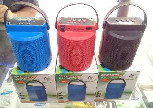 Corneta Portatil Inalambrica Bluetooth Pendrive Oferta 8verd