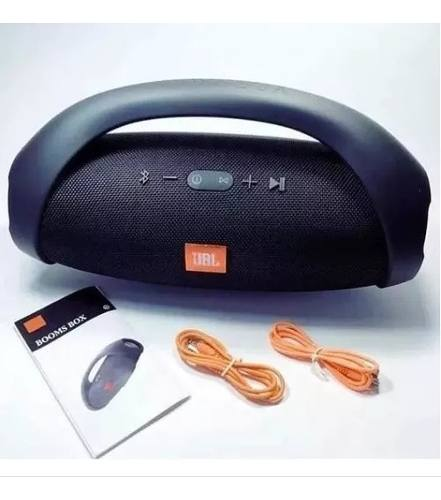 Corneta Portatil Jbl Boombox Bluetooth Aux Pc