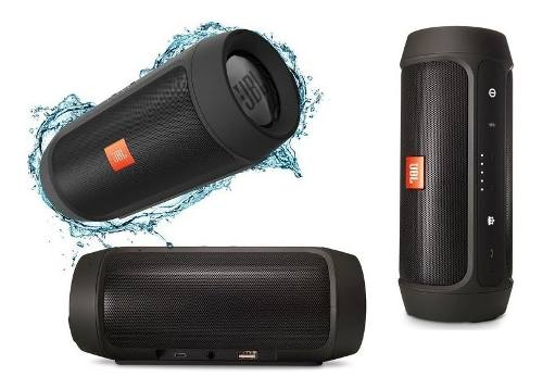 Corneta Portatil Jbl Charge2+(Power Bank Bluetooth Usb Aux)
