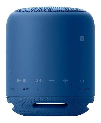 Corneta Portátil Con Bluetooth Sony Xb10 Med Azul