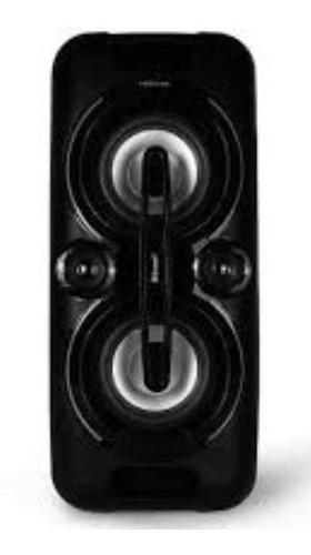 Corneta Portátil Toshiba Bluetooth Karaoke Micrófono
