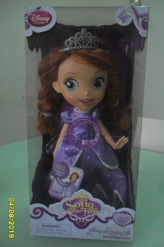 Muñeca Princesa Sofia Disney Original Usada