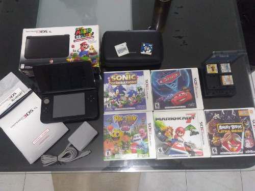 Nintendo 3ds Xl Usado Con Accesorios