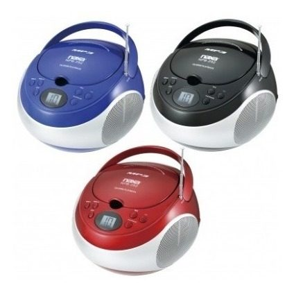 Reproductor Naxa Mp3/cd Portatil Con Radio Am/fm Stereo