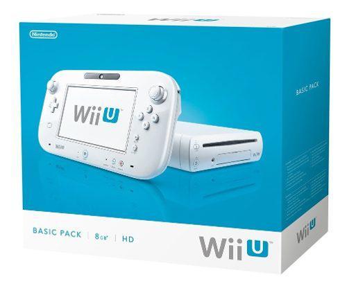 Wii U 8g + 4 Juegos (sin Cable Hdmi)