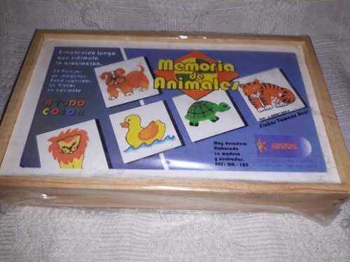 Juego Memoria De Animales,,deportes,alimentos,figuras