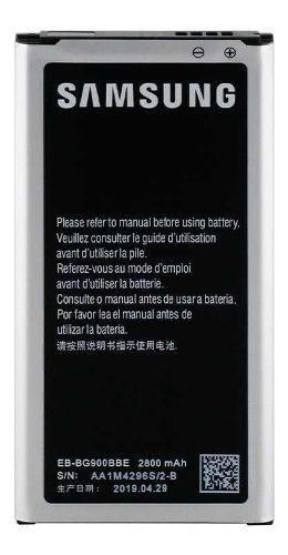 Bateria Pila Samsung S5 (grande) Original Eb Bg900bbe
