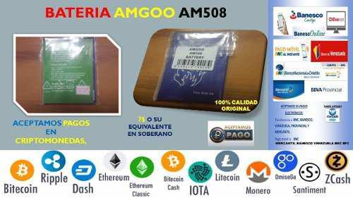 Bateria Pilas Amgoo Am508 Am518 2000mah 3.7v 7.4wh Cel