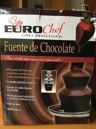 Bella Fuente De Chocolate Euro Chef 3 Niveles 25 Trum