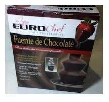 Fuente De Chocolate 3 Niveles Eurochef