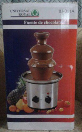 Fuente De Chocolate De 3 Niveles