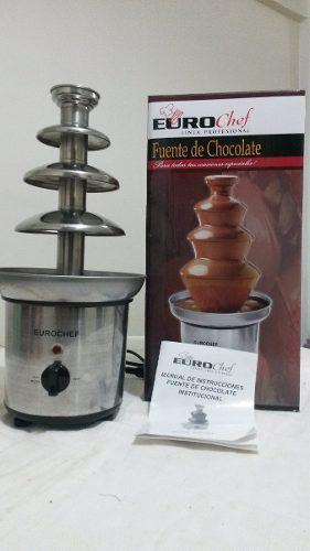 Fuente De Chocolate Eurochef De 4 Niveles