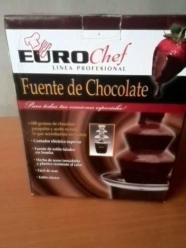Fuente De Chocolate Eurochef (nueva)
