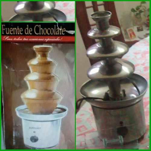 Fuente De Chocolate Marca Eurochef 4 Niveles