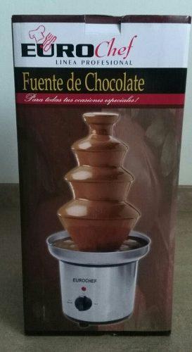 Fuente De Chocolate Profesional Eurochef 4 Niveles Nueva