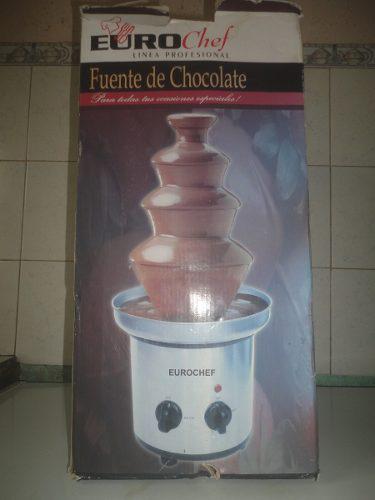 Fuente De Chocolate,eurochef Linea Profesional (40d)