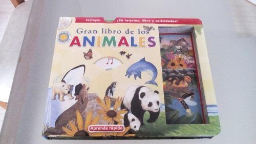 Libro Infantil Interactivo Gran Libro De Los Animales + Cd