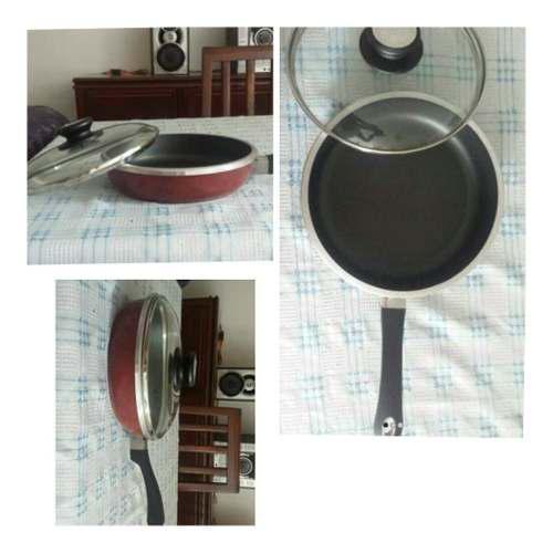 Sarten Kitchen Fair Con Tapa Made In Usa Nuevo