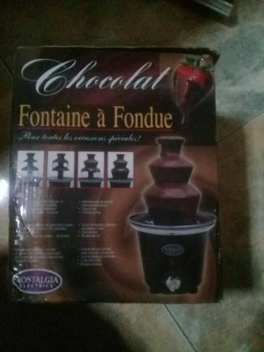 Se Vende Fuente De Chocolate Nostalgia