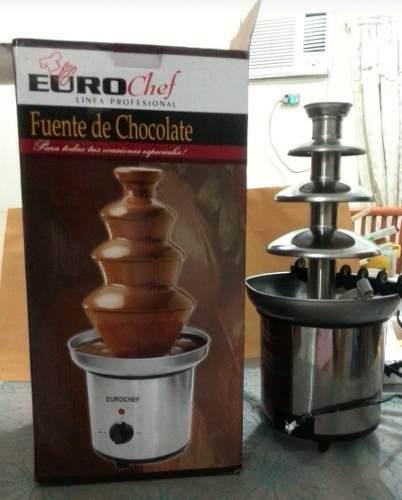 Super Oferta Fuente De Chocolate Euro Chef