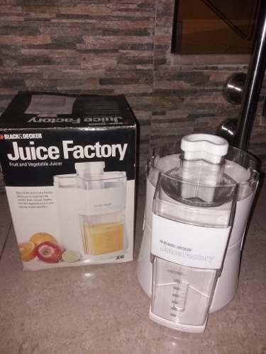 Extractor De Jugos Black & Decker Juice Factory