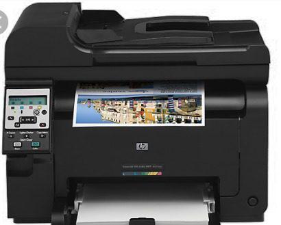 Fotocopiadora E Impresora Laser A Color Hp Laserjet Pro 100