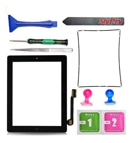 Nuevo Pantalla De iPad 3 Táctil Frontal De Vidrio