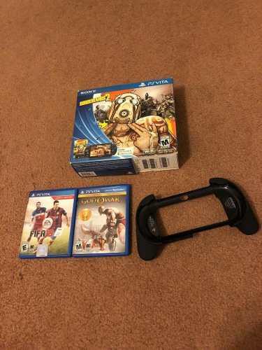 Playstation Vita Como Nuevo Con 2 Juegos Originales