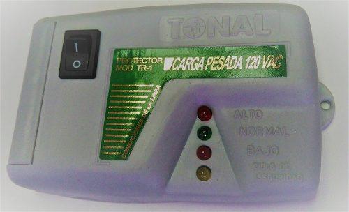 Protector De Voltaje 120v Refrigera Carga Pesada Tr-1 Borne