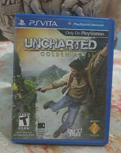 Uncharted: Golden Abyss Ps Vita