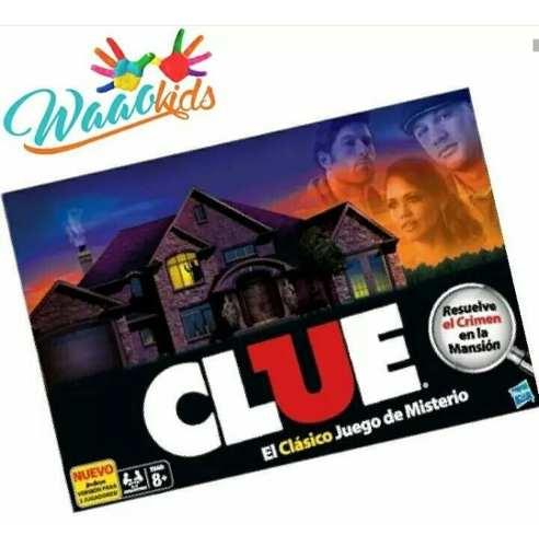 Clue Juego Original De Mesa