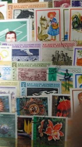 Colección De Estampillas Antiguas