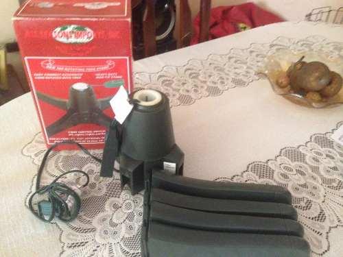 Base Giratoria Para Arbolito De Navidad