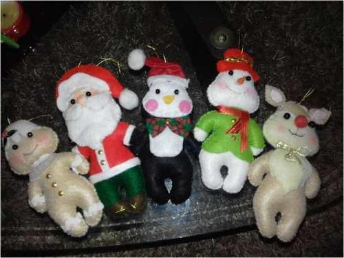 Muñecos De Adornos Para El Árbol De Navidad