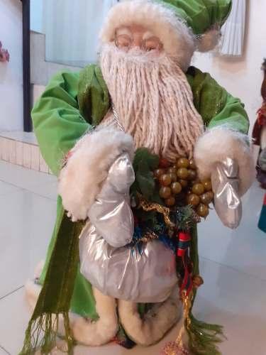 Santa Claus Espiritu De Navidad San Nicolas Con Adornos