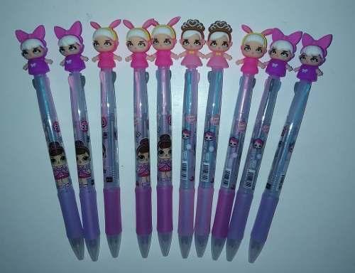 Bolígrafo De Varios Colores Para Niñas Muñeca Lol