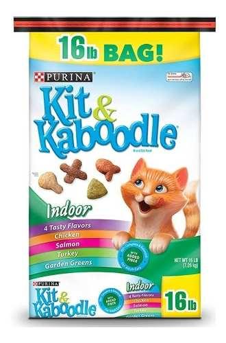 Gatarina Comida Para Gatos Purina Kit & Kaboodle 16lbs