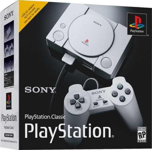 Playstation Classic 2018 Nuevos En Caja