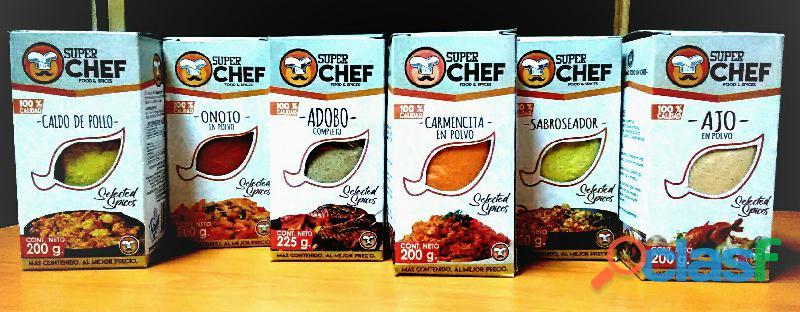 Super Chef Food Y Spices te ayuda a emprender tu negocio
