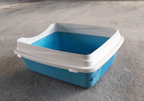 Caja De Baño Para Gatos Grande