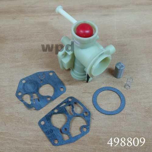 Carburador Motor Briggs & Stratton 3,5 Hp Cortagrama 498809