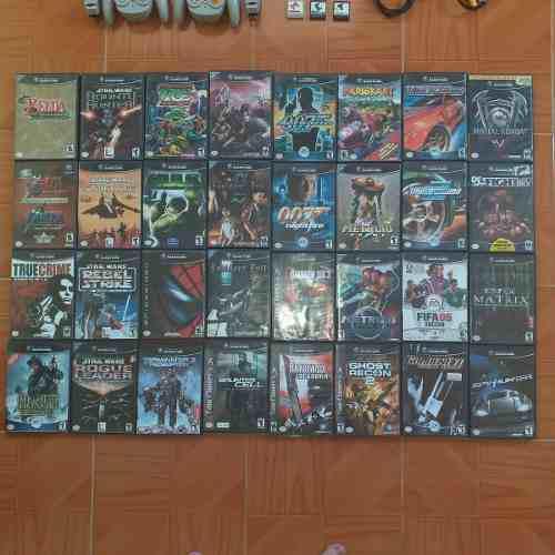 Combo De 32 Juegos Originales Para Nintendo Gamecube
