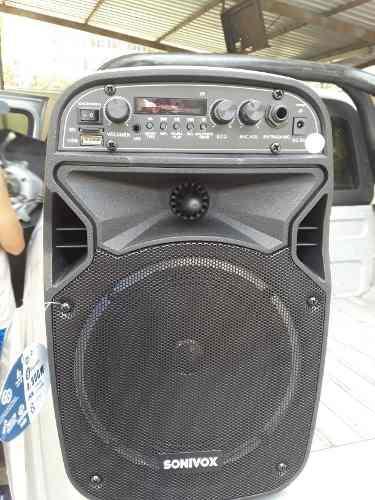 Corneta Amplificada Karaoke Portatil 6.5 Pulgadas