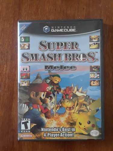 Juego Super Smash Bros. De Nintendo Gamecube