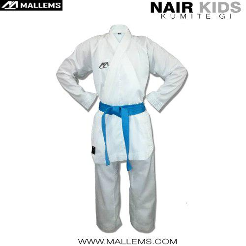 Karategi Kimono De Kumite Liviano Mallems Nair K -1 / 1.10mt
