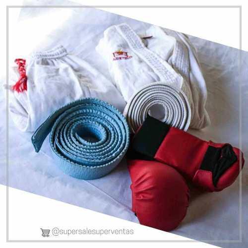 Kimono Y Guantes De Karate Para Niños